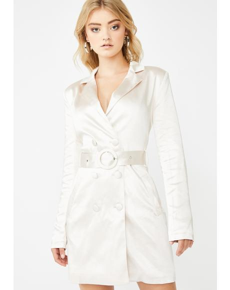 CEO Status Trench Dress