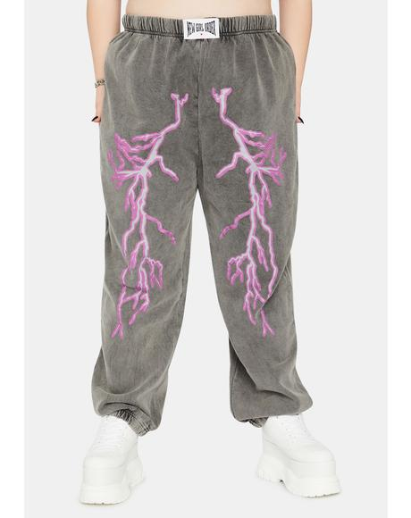 Curve Flash Jogger Sweatpants