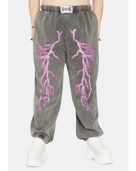 Curve Flash Jogger Sweatpants