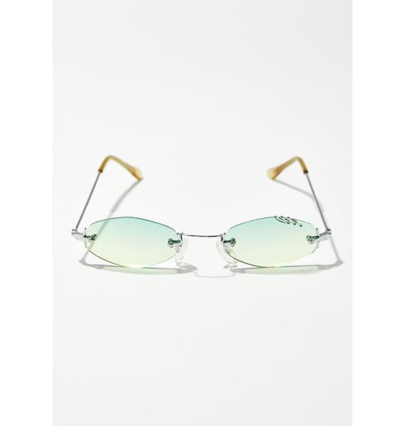 Clout Queen Pierced Sunglasses