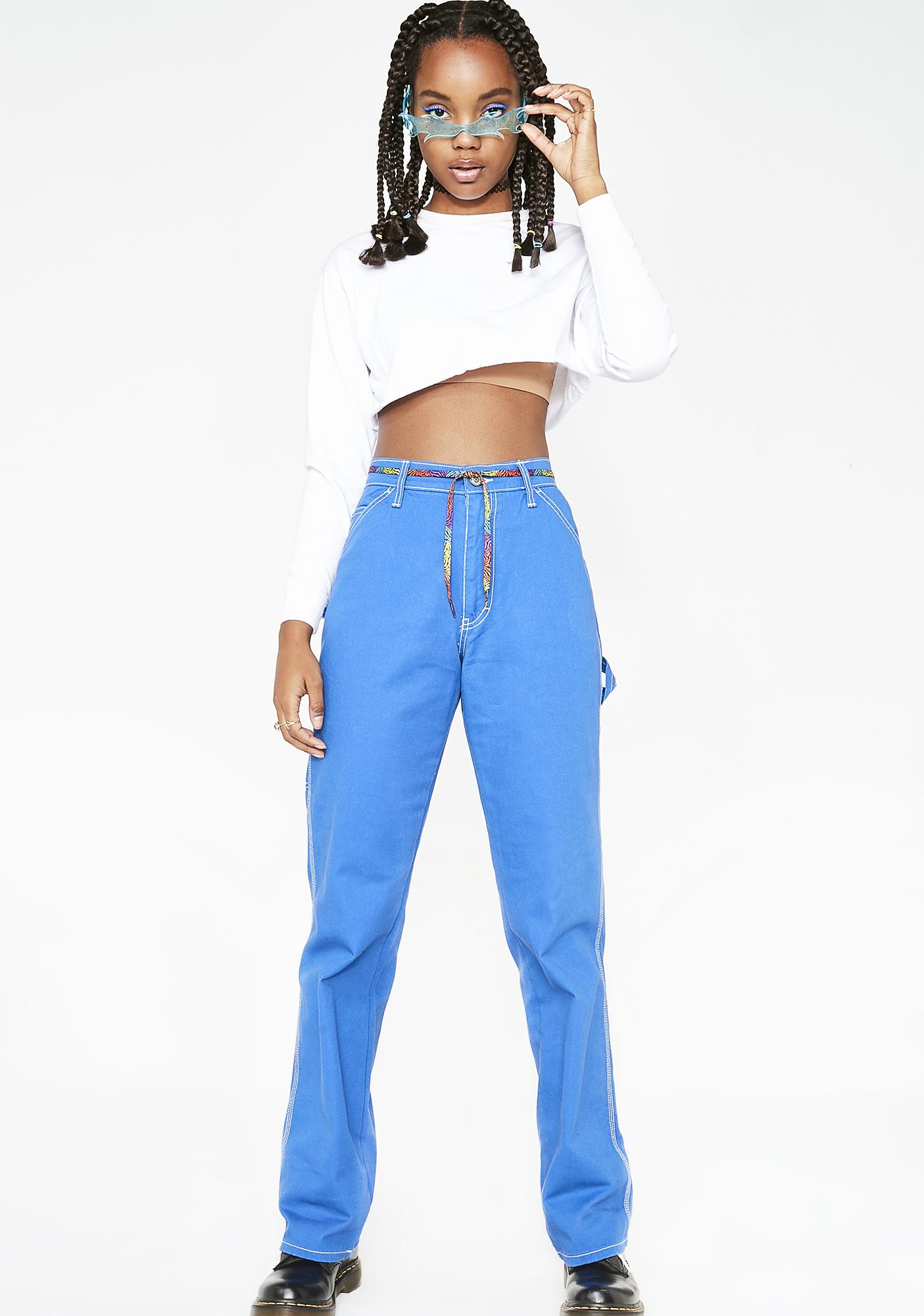 Dickies Girl High Rise Relaxed Fit Carpenter Pants