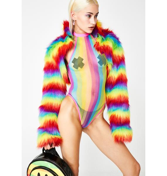 Unicorn Livin' Rainbow Bodysuit