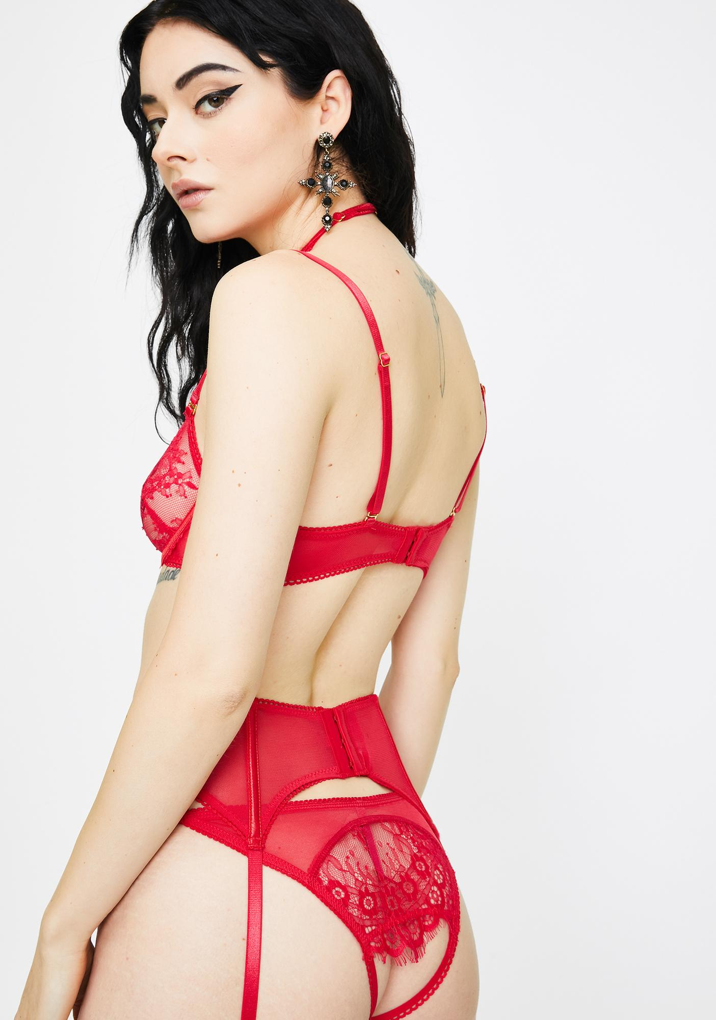 Passion Bed Of Roses Bra Set