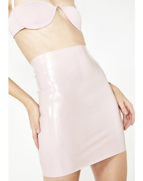 Princess Kink Vinyl Skirt