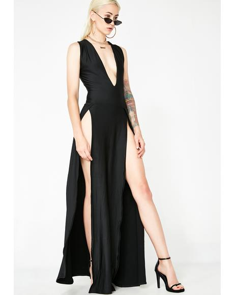 Bond Girl Maxi Dress