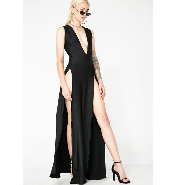 Bond Girl Maxi Dress