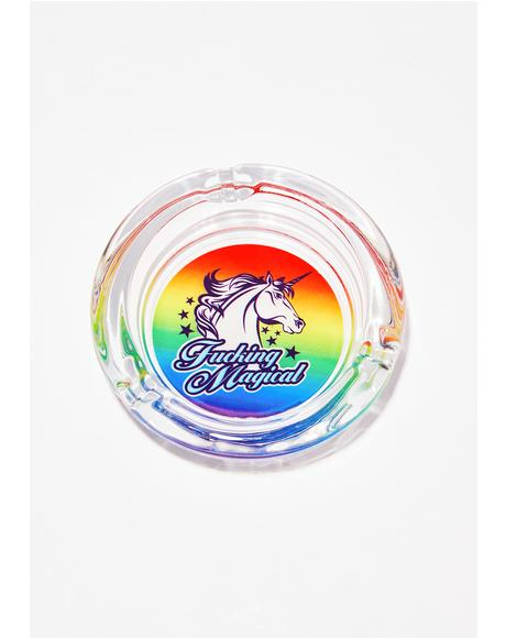 Believe In Magic Ashtray