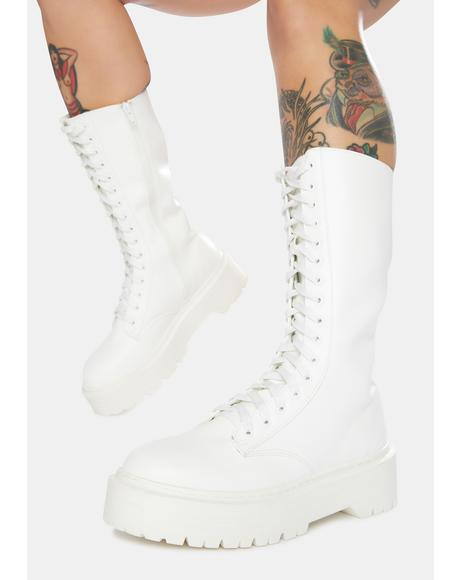 Kendall Combat Boots