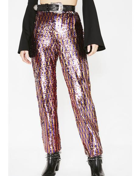 Chic To Freak Sequin Trousers