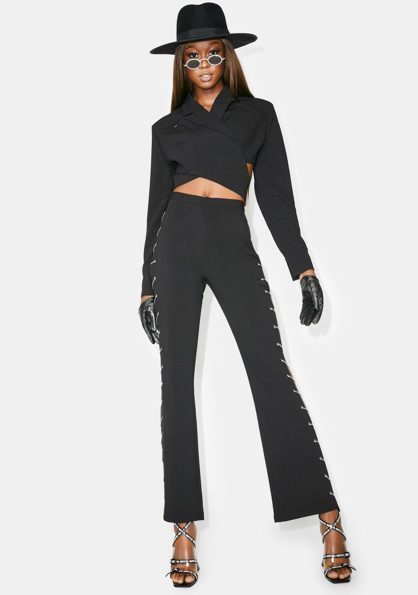 Poster Grl Cut A Deal Chain Pants