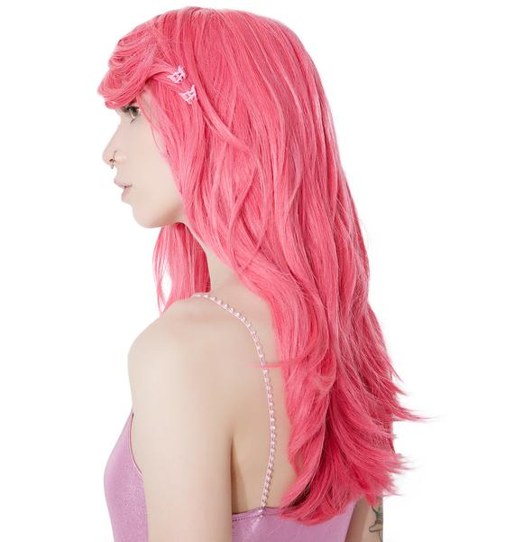 Rockstar Wigs Atomic Pink Mid-Length Wig