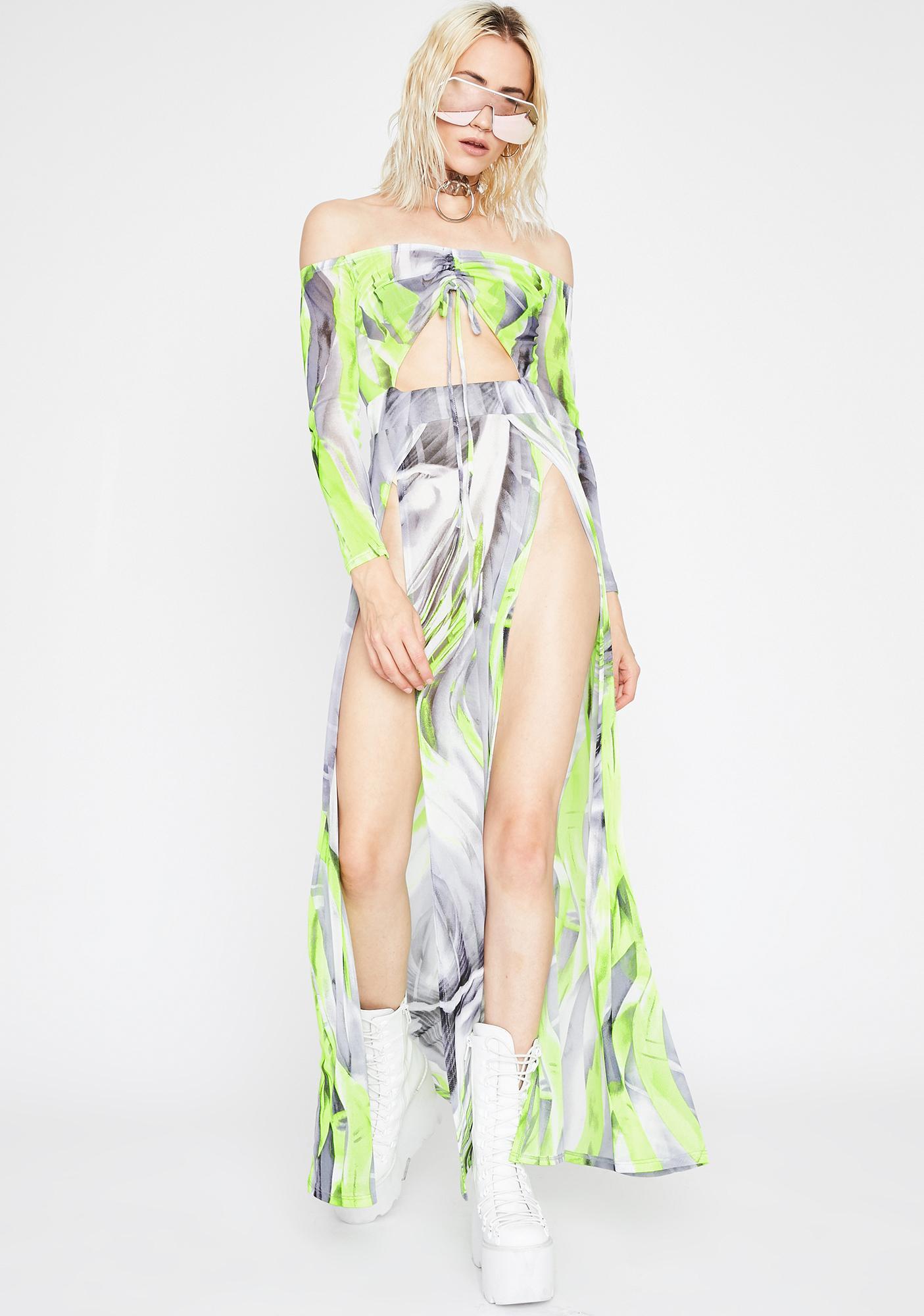 Major Currents Maxi Dress