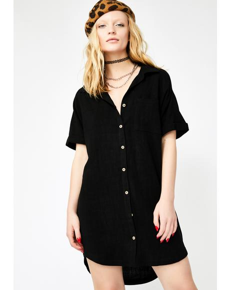 Chilled Out Shirt Dress