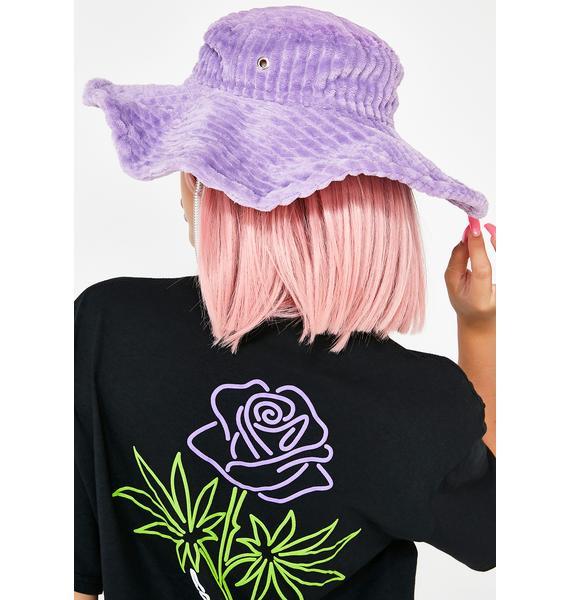 Somewhere Nowhere Corduroy Shaping Hat