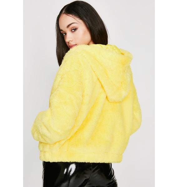 Feel Me Up Furry Jacket