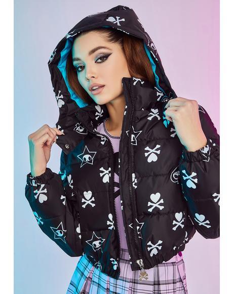 Sayonara Sweetheart Cropped Puffer Jacket