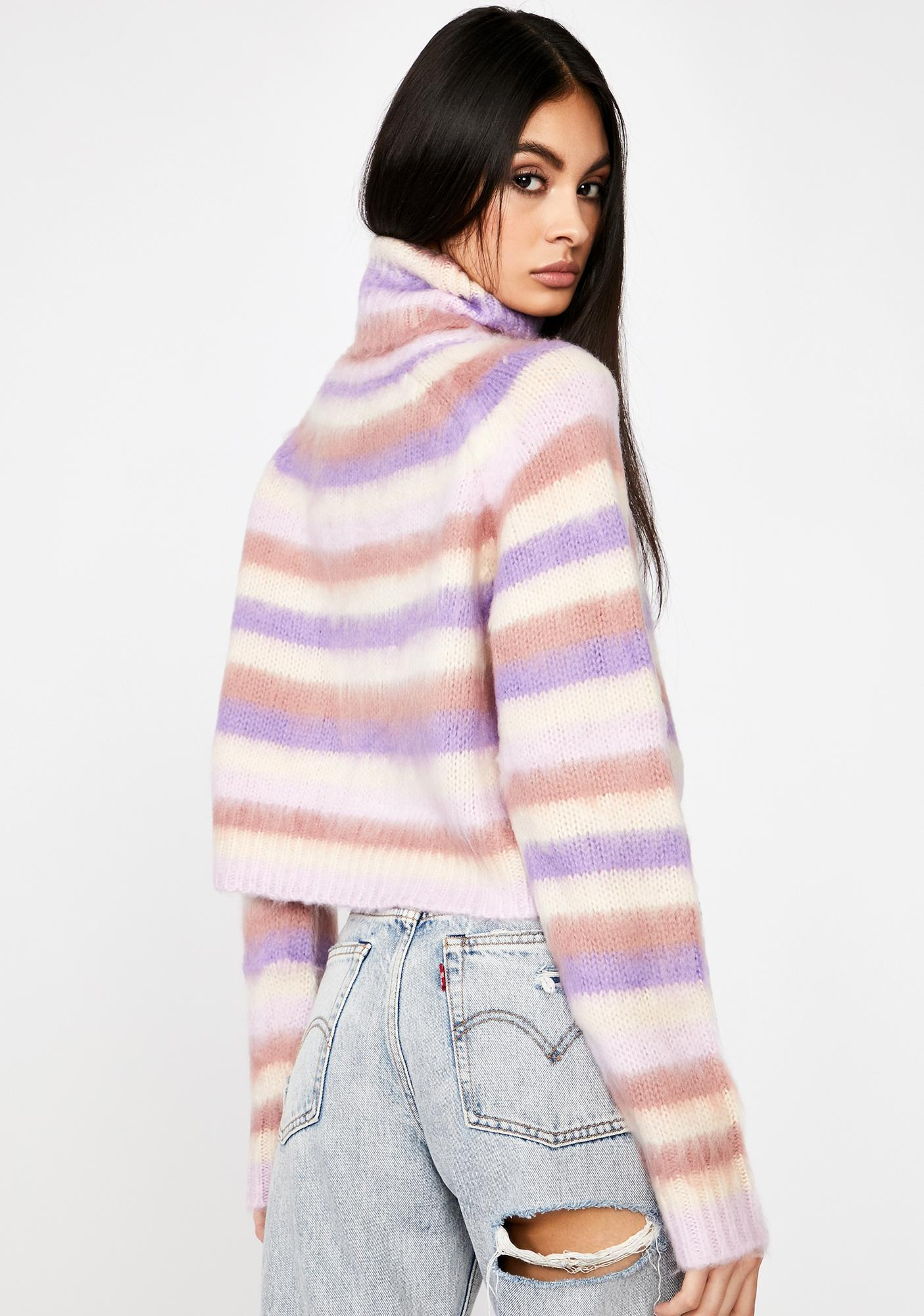 Totally Busted Stripe Sweater