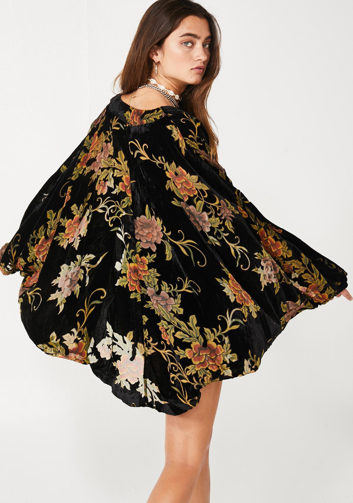 Desert Call Floral Kimono