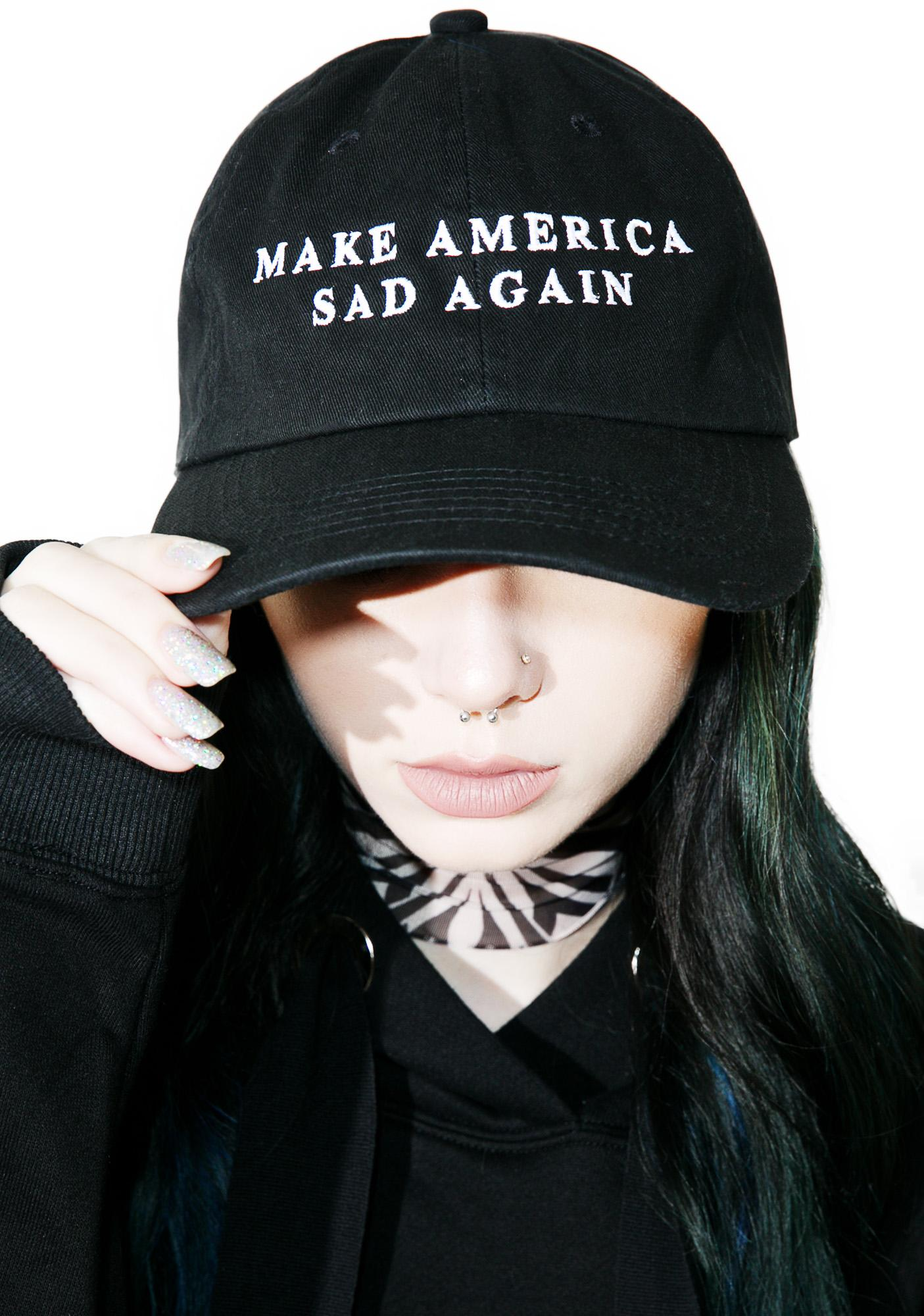 Sad Boy Crew Make America Sad Again Hat
