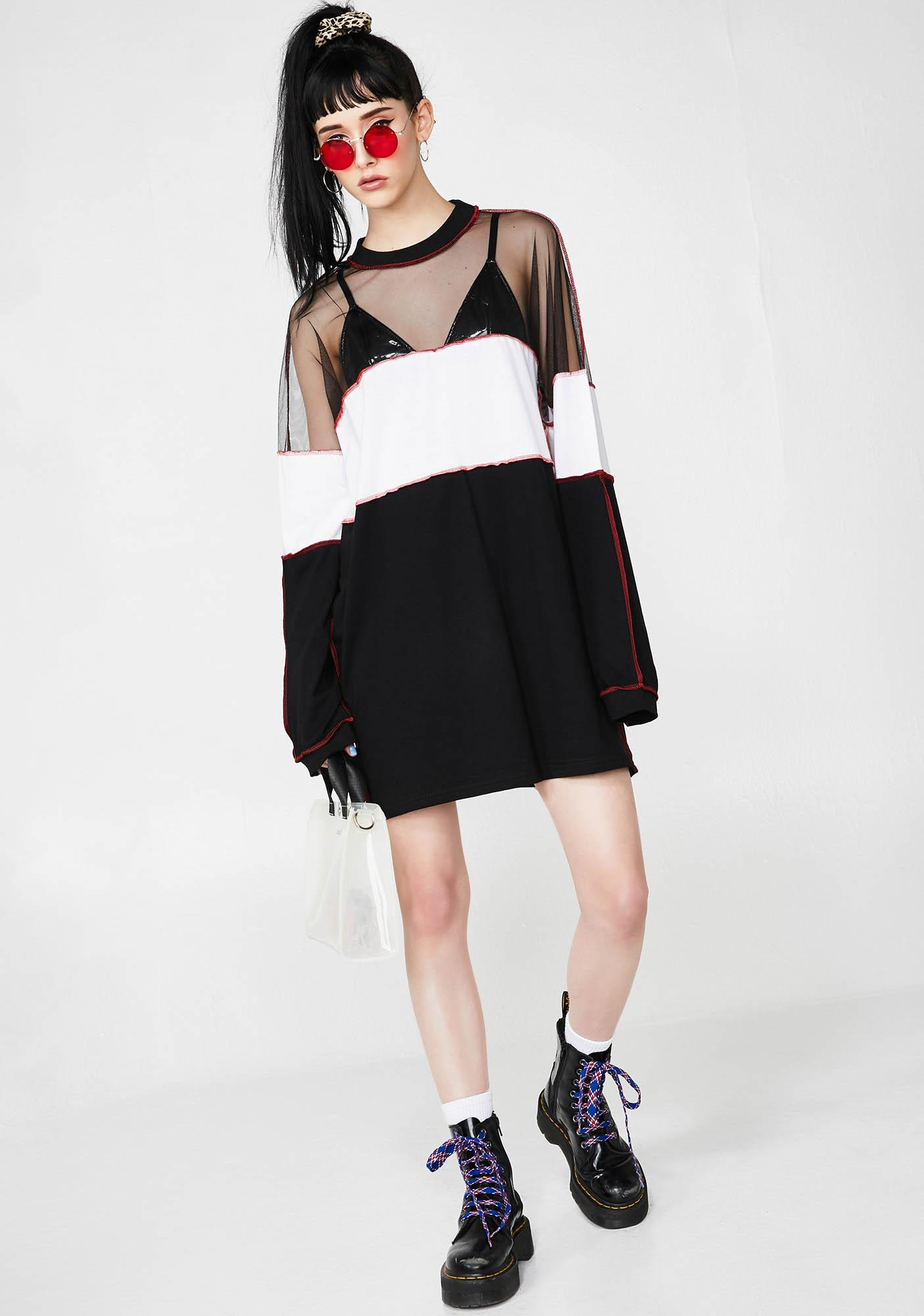 The Ragged Priest Division Dress
