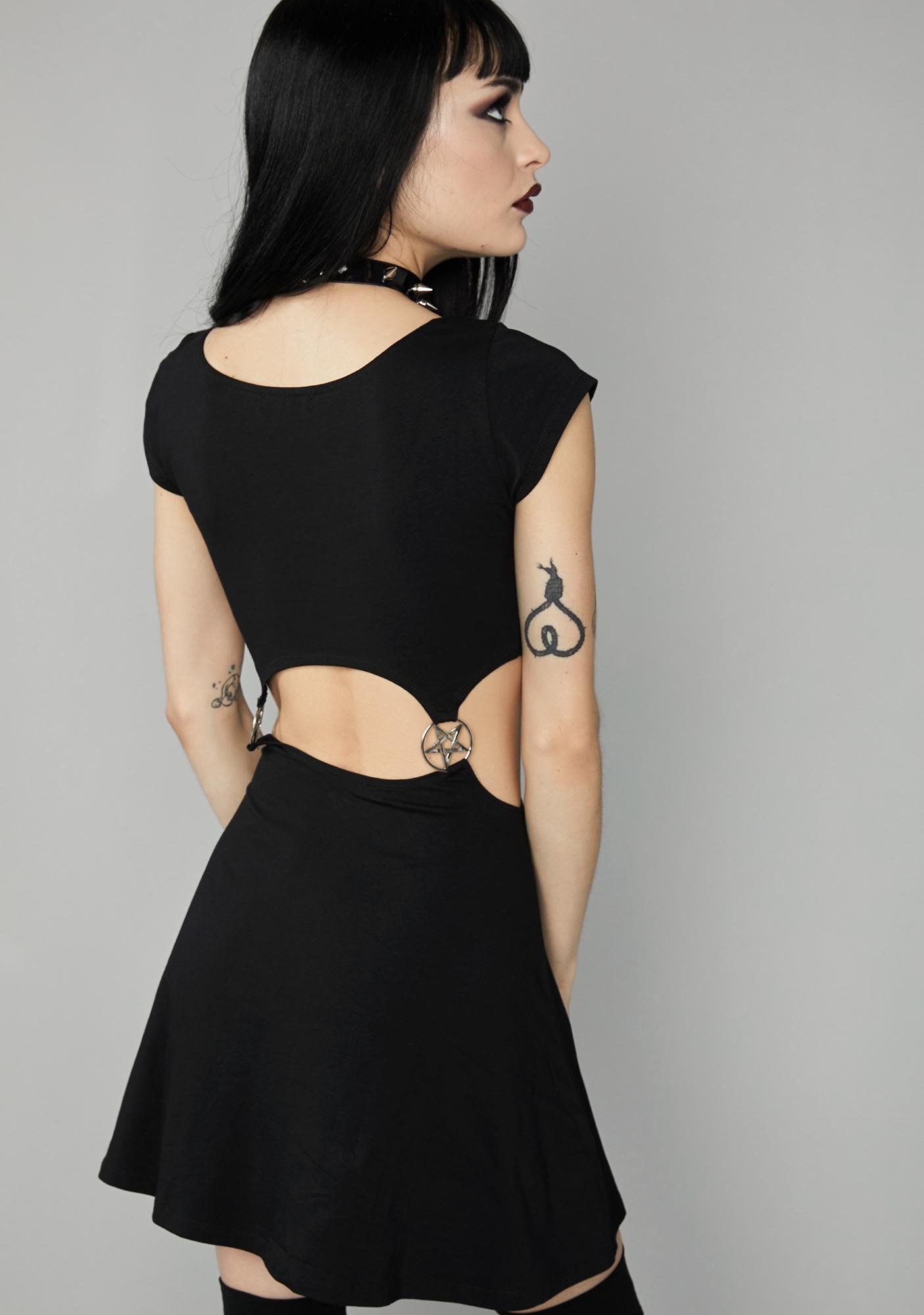 Widow Spiritual Realm Skater Dress