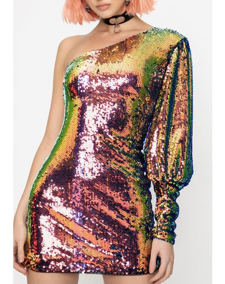 Gotta Have It Sequin Dress