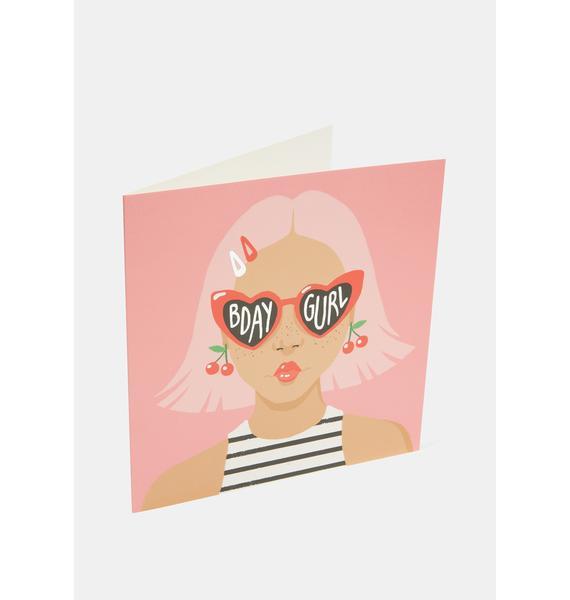 Central 23 Heart Sunglasses Card
