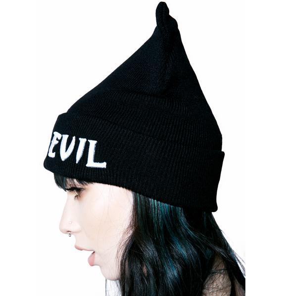 Killstar Purr Evil Beanie