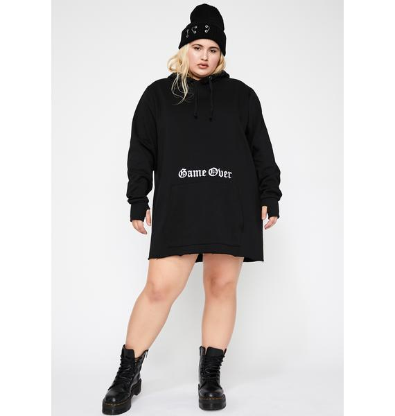 Current Mood Lux Game Over Hoodie
