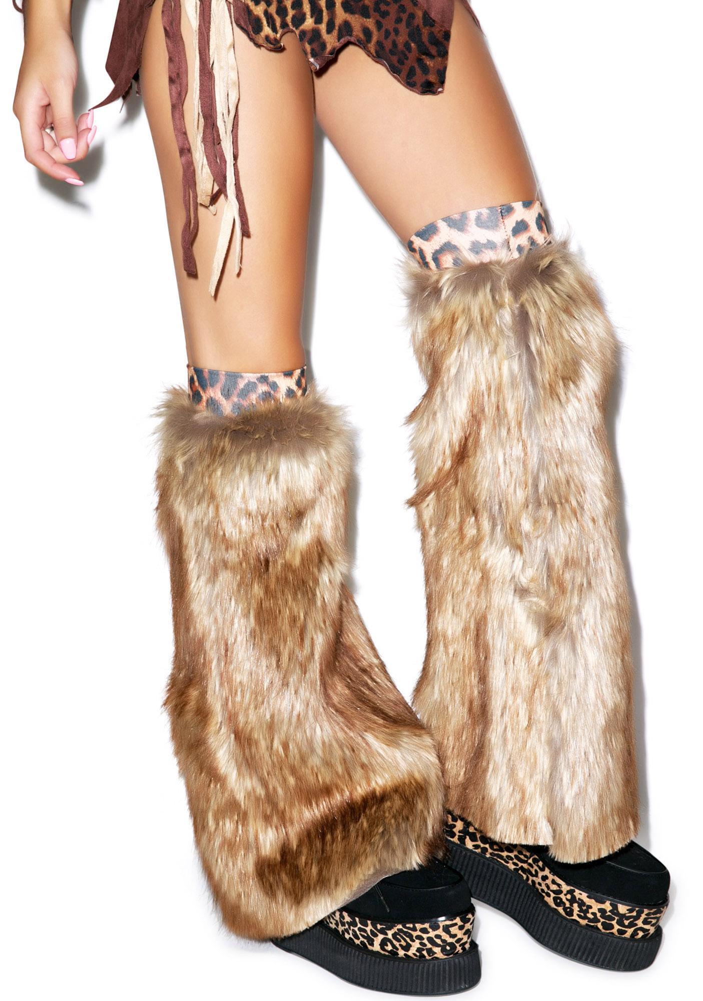 Deadliest Catch Furry Legwarmers