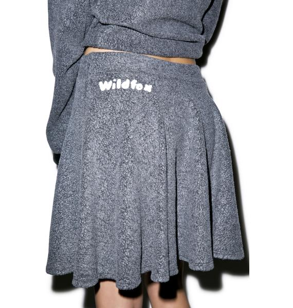 Wildfox Couture Chenille Wildfox Mini Skirt