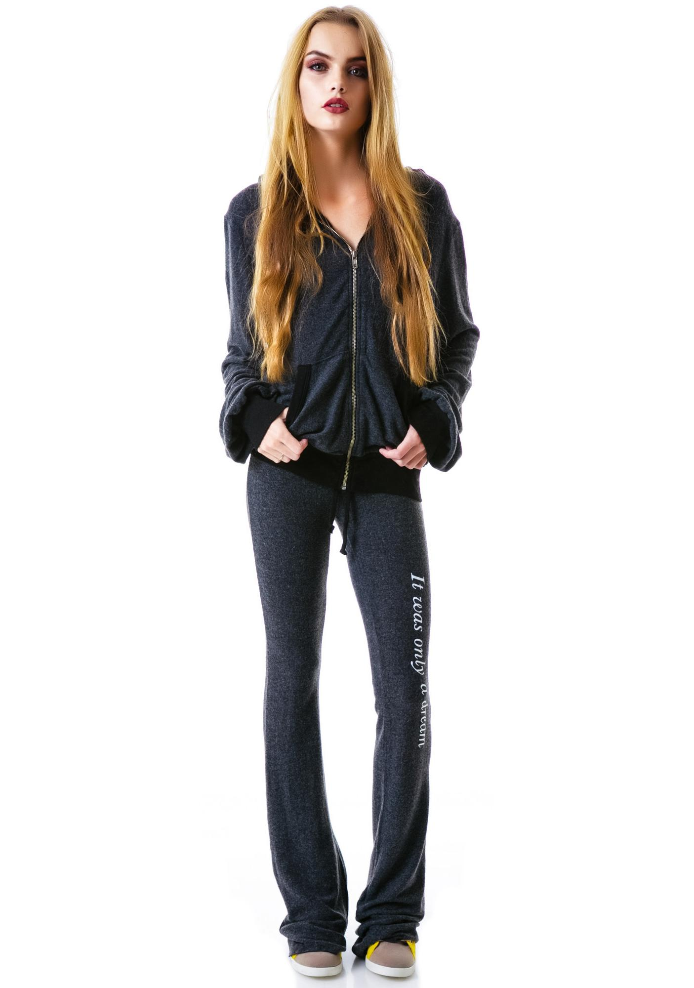Wildfox Couture Only a Dream Malibu Zip Up