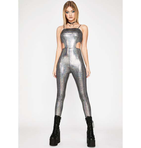Astro Flash Cutout Catsuit