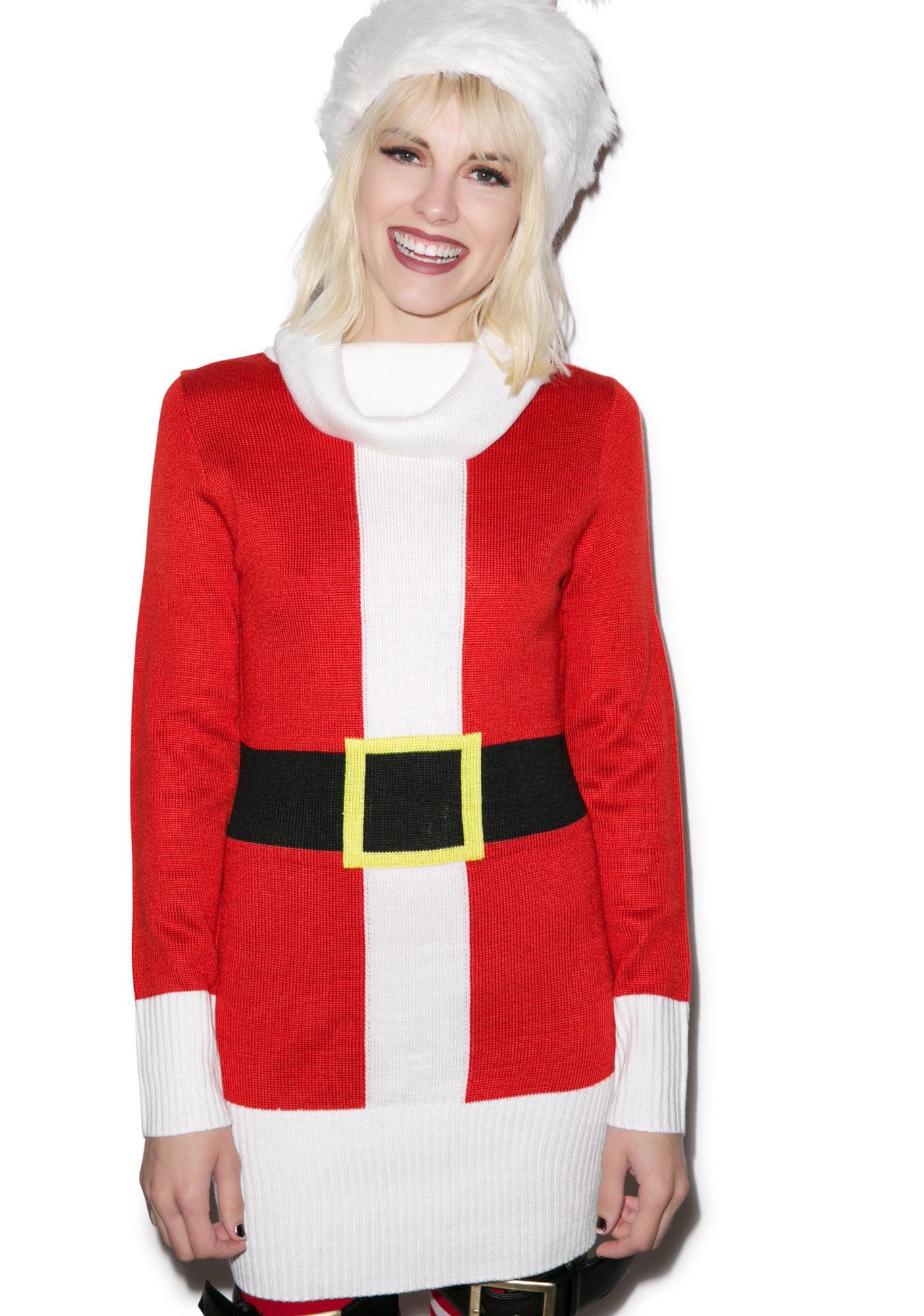 Tipsy Elves Santa Dress