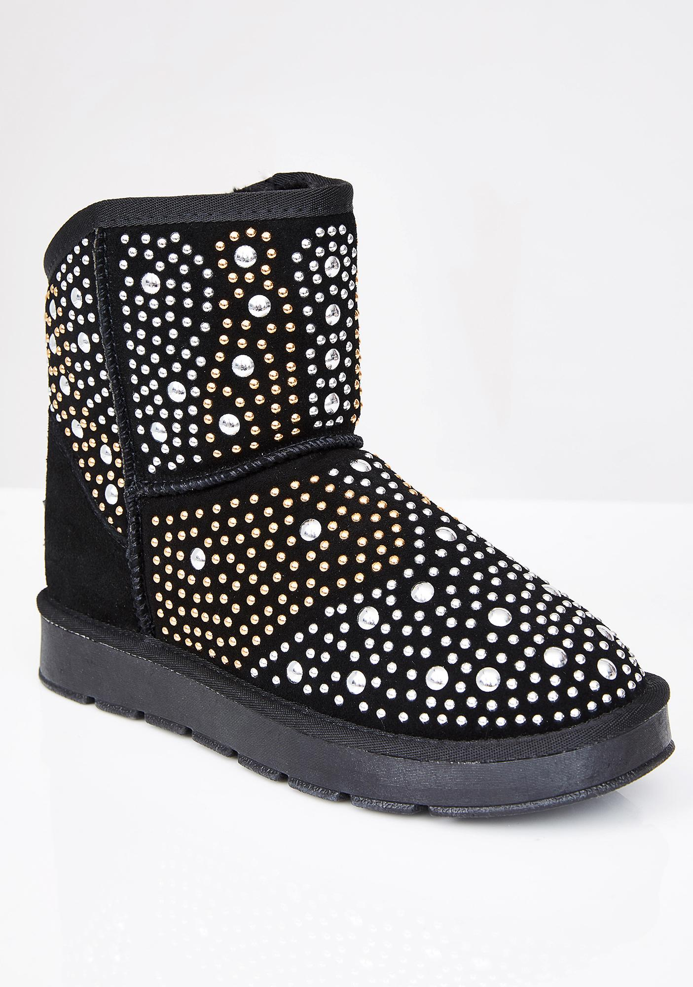 Dark Ice Cold Babe Winter Boots