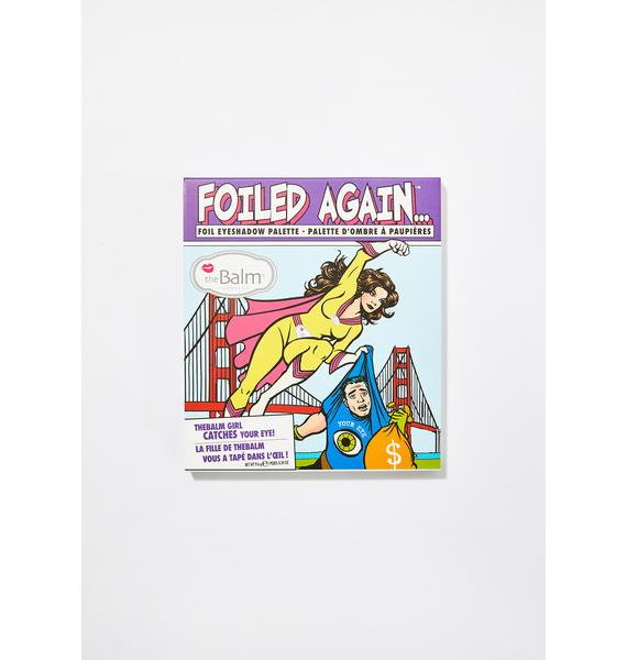 The Balm Foiled Again Foil Eyeshadow Palette