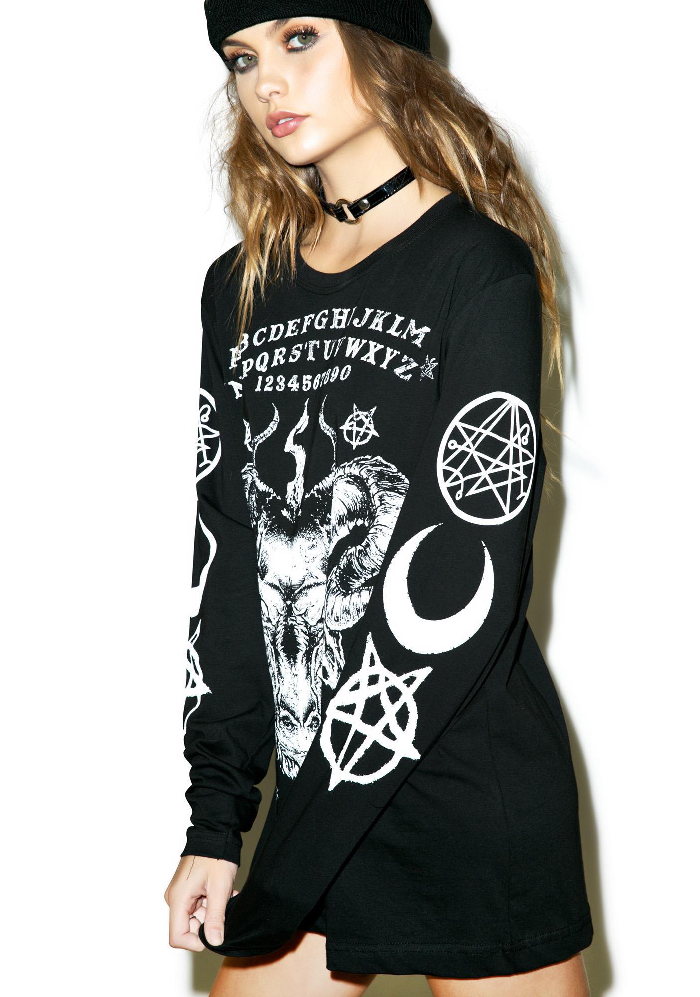 Disturbia Ouija Long Sleeve T-Shirt