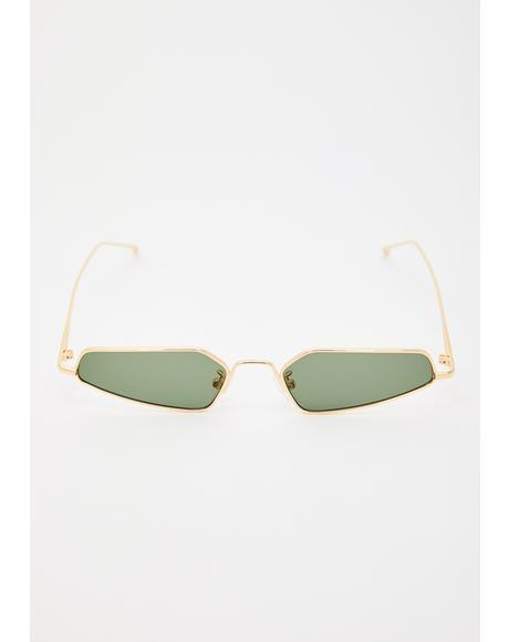 Camera Ready Abstract Sunglasses