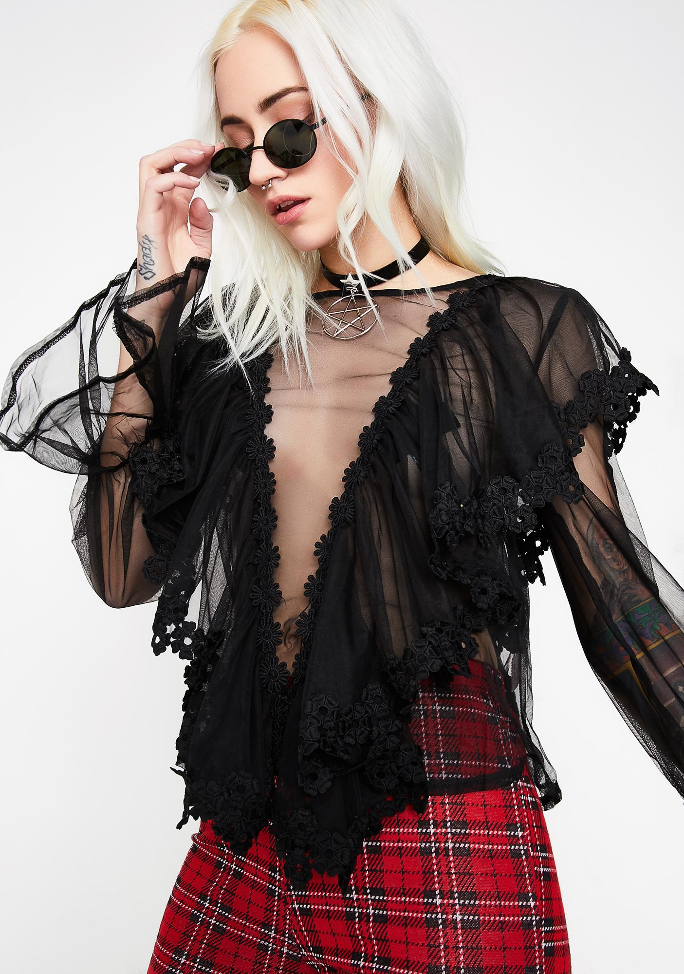 Death Becomes Her Top