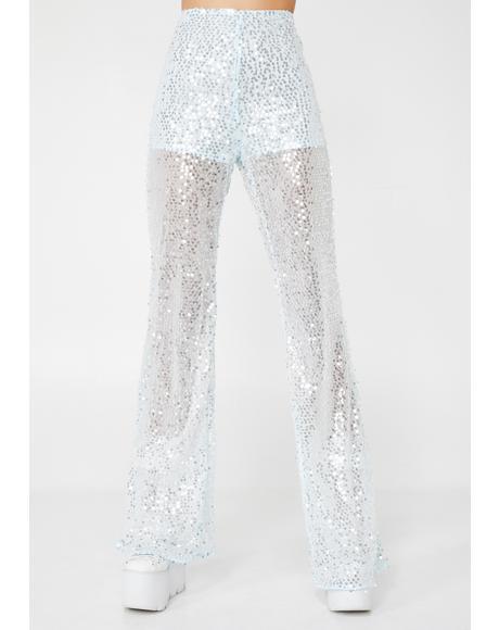 Divine Disco Sequin Flares