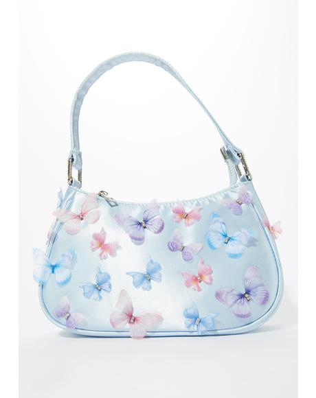 Mystic Skies Butterfly Mini Purse