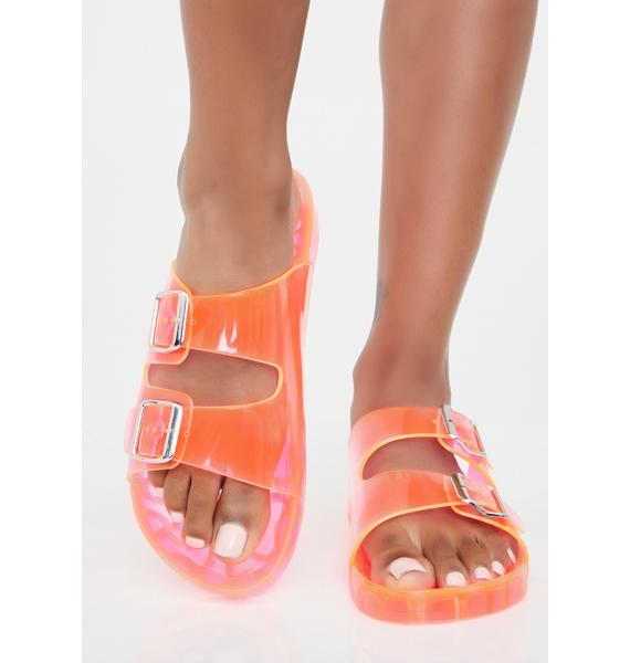 Must Be Jelly Sandals