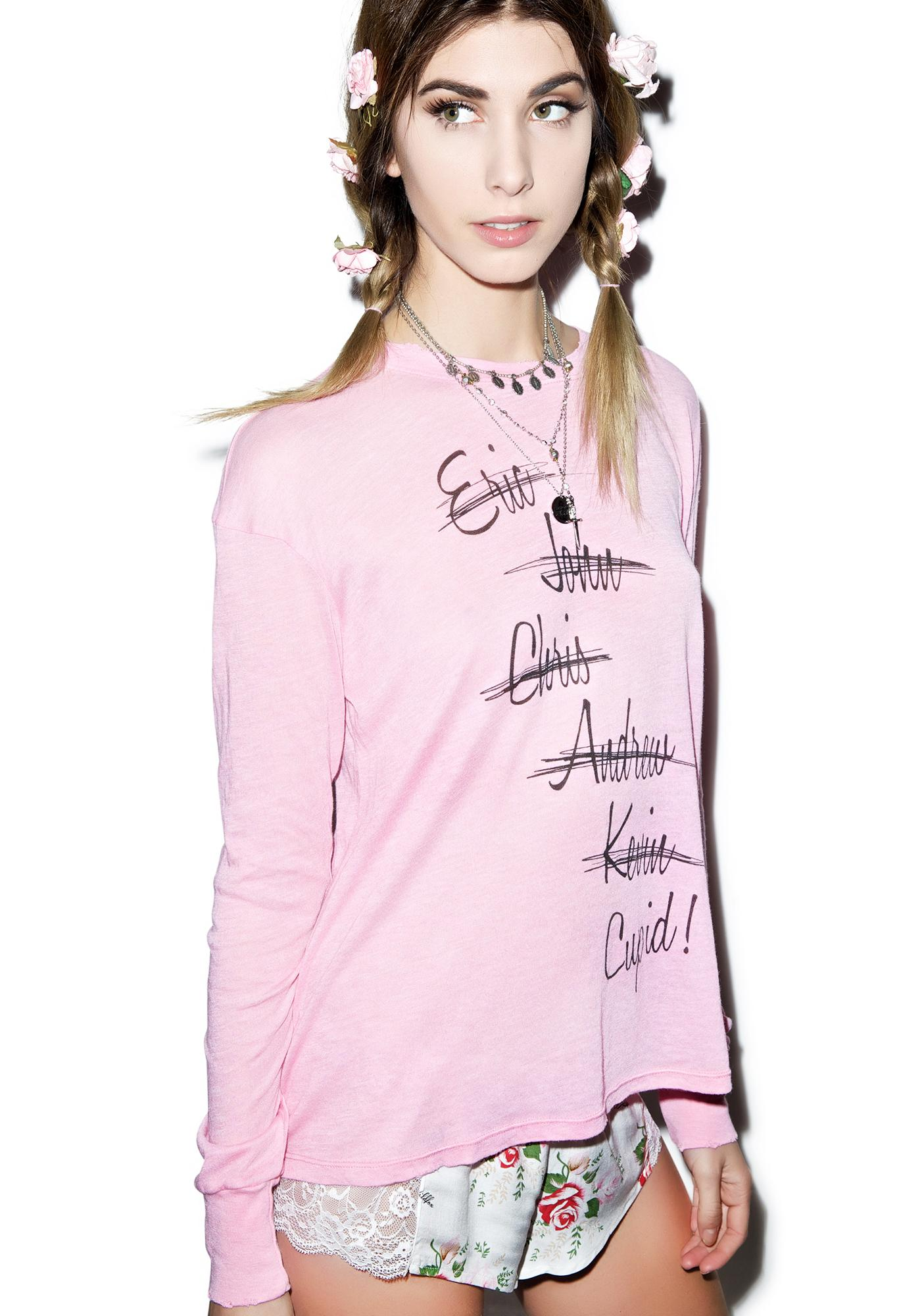 Wildfox Couture Looking For Love Walk Of Shame Tee