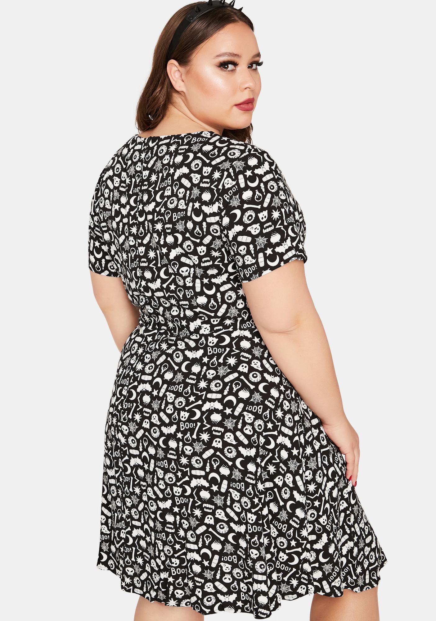 Black Friday Curve Magic Mix Mini Dress