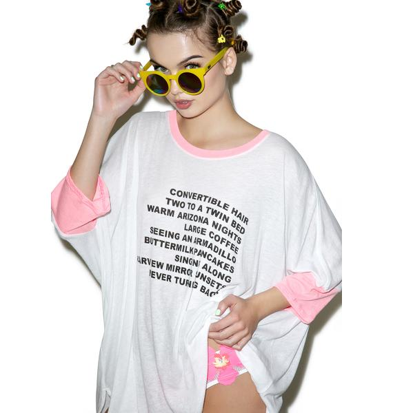 Wildfox Couture Warm Nights Sunny Morning Tee