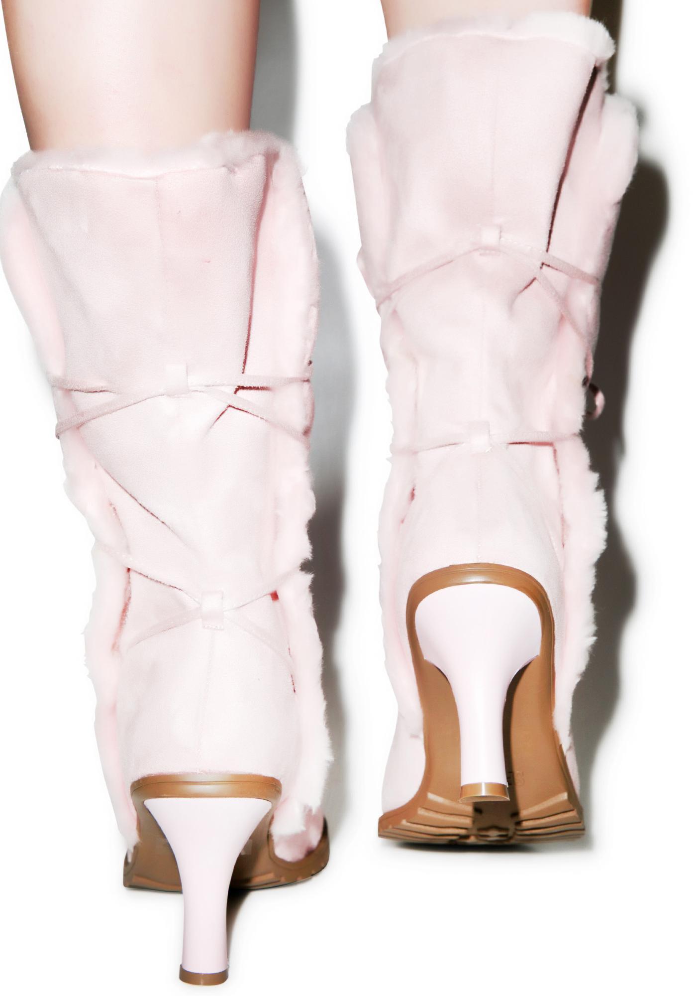 Gettin Cozy Polar Boots