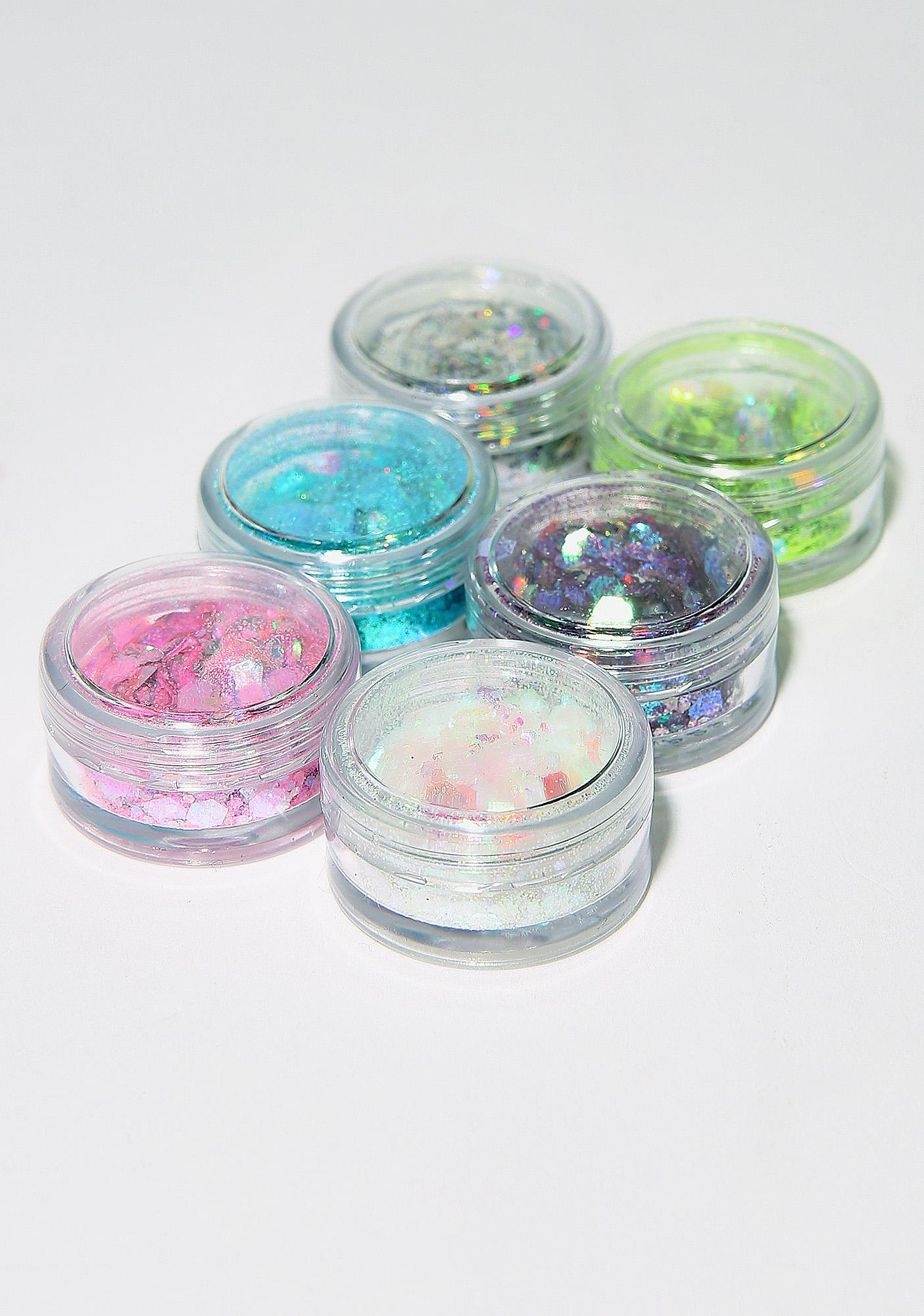 FromNicLove Extra Chunky Glitter And Glue Set