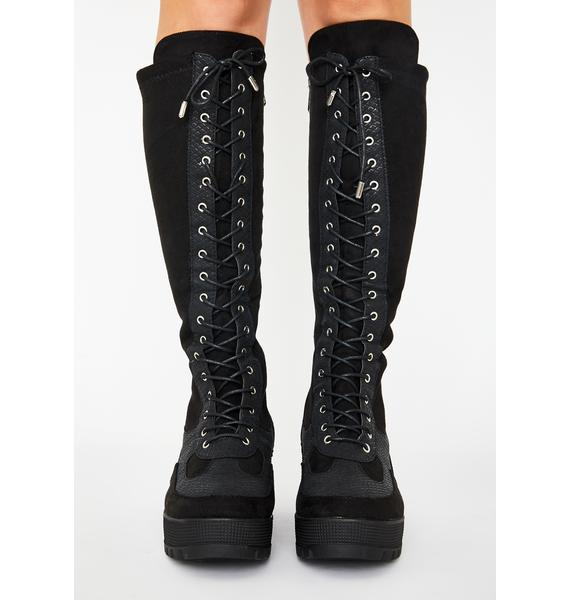 Max Energy Knee High Boots