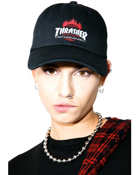 X Thrasher Tour De Stoops 6 Panel Hat