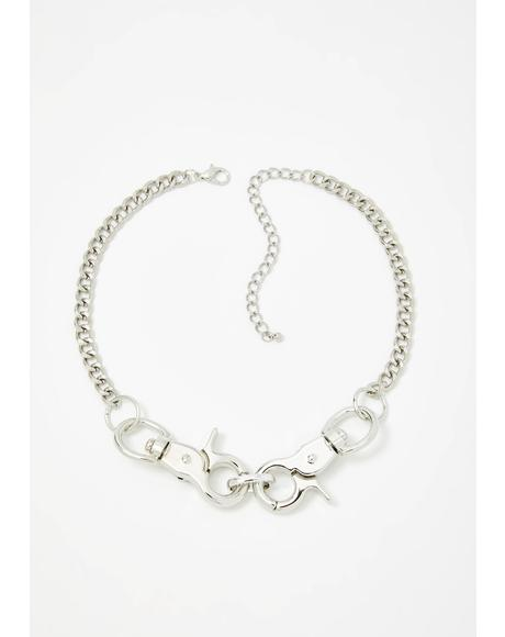 Rebel Riot Chain Choker